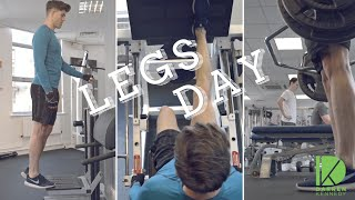 Build Muscle  & Grow Legs - Lower Body Workout