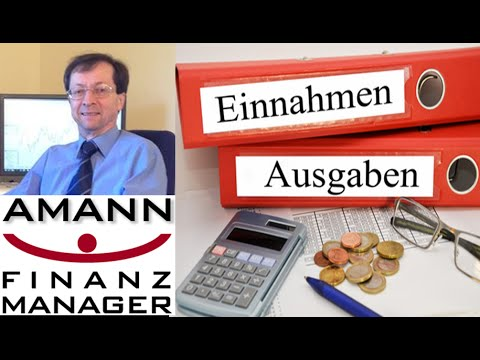 Finanz Manager Datenimport Demo