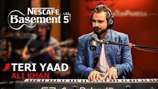 TERI YAAD | Ali Khan | NESCAFÉ Basement Season 5 | 2019