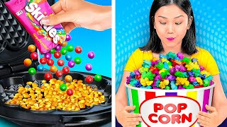 HOLY GRAIL KITCHEN HACKS!  Awesome Food Hacks And Challenges by 123 Go! Genius