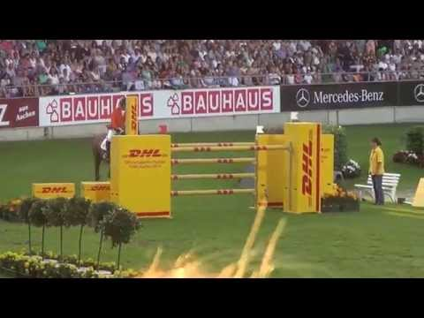 Nations Cup Aachen 2014 round 1: Gerco Schröder & Glock's London
