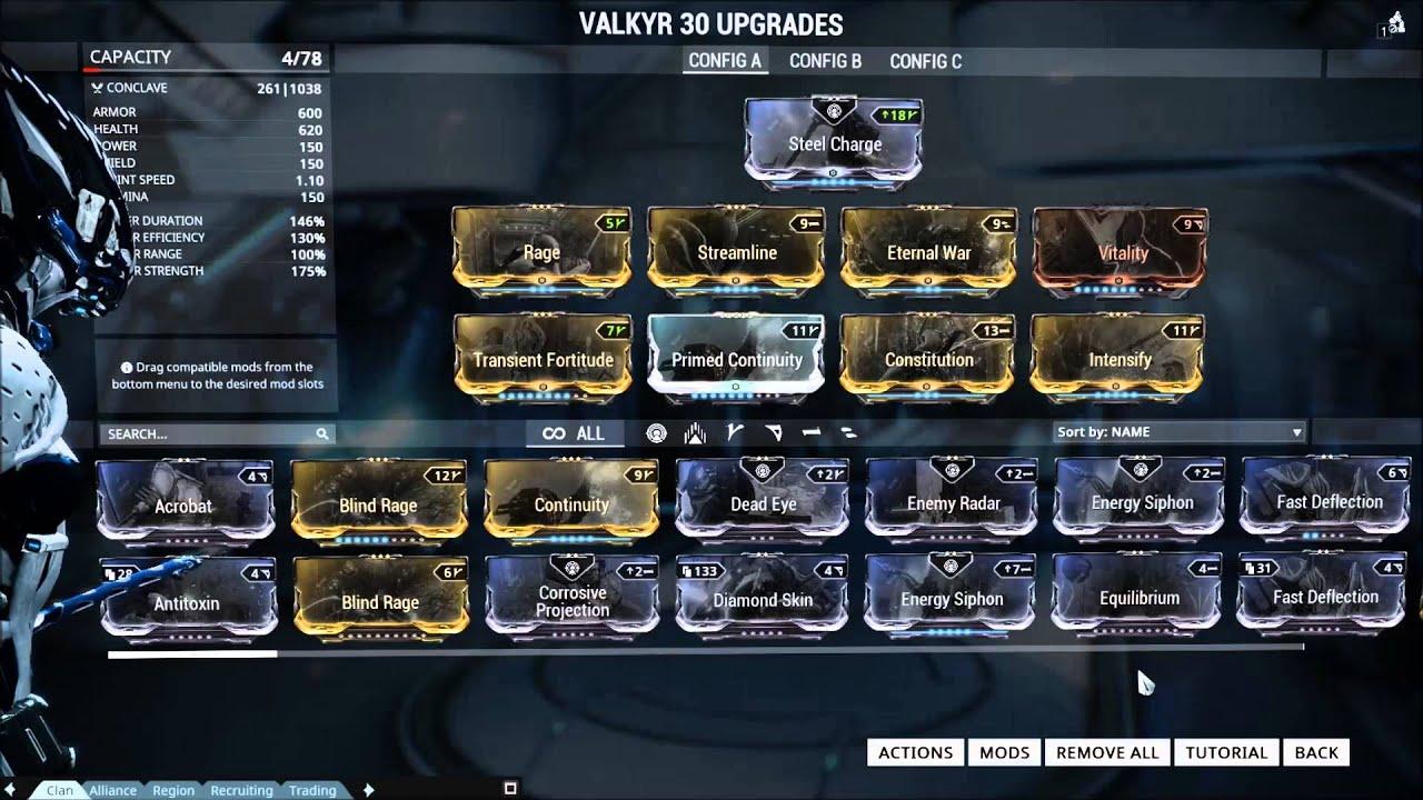 Warframe Broken War Build