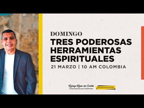 TRES PODEROSAS HERRAMIENTAS ESPIRITUALES 📺 ENCUENTRO DOMINICAL /21/MARZO/2021 En Línea Con Dios