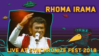 Rhoma Irama LIVE @ Synchronize Fest 2018
