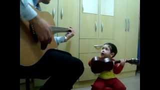 2 year old sings