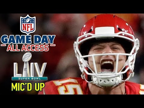 "Super Bowl LIV Mic'd Up, ""I'm a BEAST down here… HIT ME!"" 
