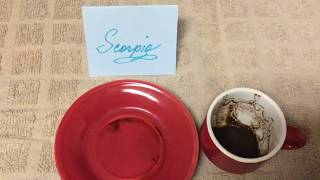 Scorpio October 14, 2019 Weekly Coffee Cup Reading by Cognitive Universe