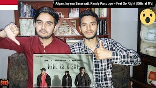 Gambar cover Foreigner Reacts To: Afgan, Isyana Sarasvati, Rendy Pandugo – Feel So Right (Official Music Video)
