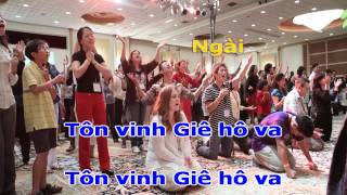 Liên Khúc - Hãy Tôn Vinh Ngài - Jehoshaphat (Lyrics)