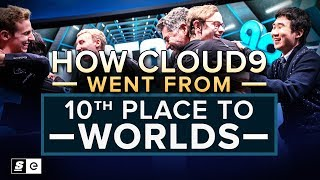 How Cloud9 Went From 10th Place to Worlds (LoL)