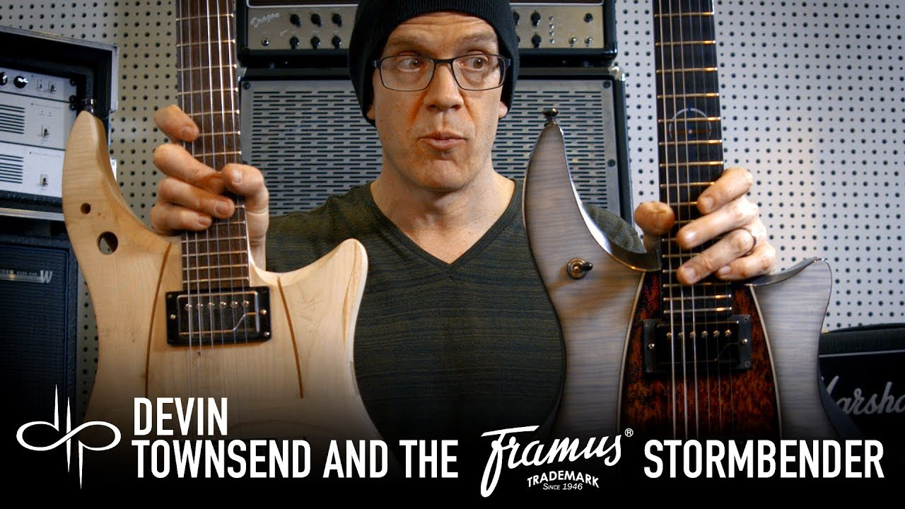 devin townsend and the framus stormbender prototype youtube. Black Bedroom Furniture Sets. Home Design Ideas