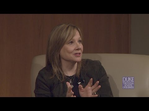Distinguished Speaker Series: Mary Barra, Chairman & CEO, General Motors Company