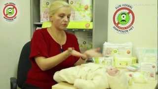 Гигиена новорожденного. Смена подгузника. Подмывания(Помимо купания в ванной очень важно уделять внимание качественной гигиене новорожденного в течении дня,..., 2012-03-20T11:01:59.000Z)