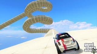 سباق وباركور سيارة ميني كوبر🐸🐸GTA 5 : Online Mini Cooper Race And Parkour