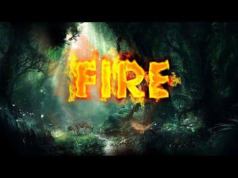 Cách làm hiệu ứng chữ lửa cho thiết kế đồ họa phim, dạy photoshop