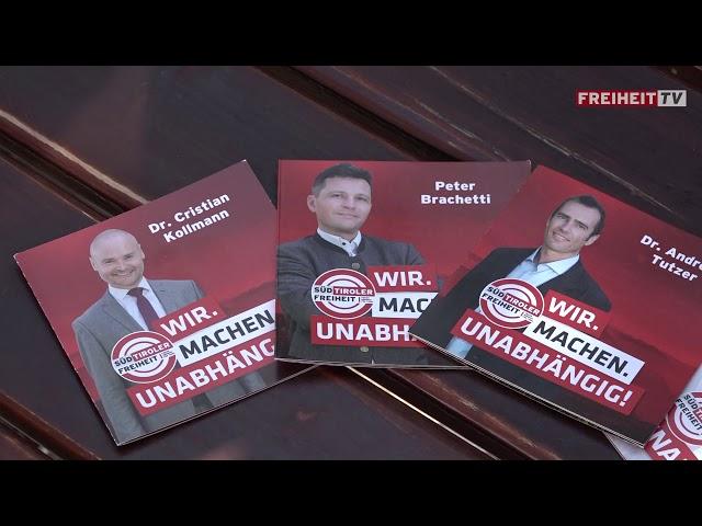 Unsere Landtagskandidaten für Bozen - Der Filmbericht