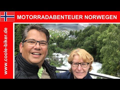 Norwegen mit dem Motorrad - Juli 2017 - Durch das Land der Trolle und Fjorde - Tour to Norway