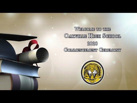 Oakville High School Graduation 2020