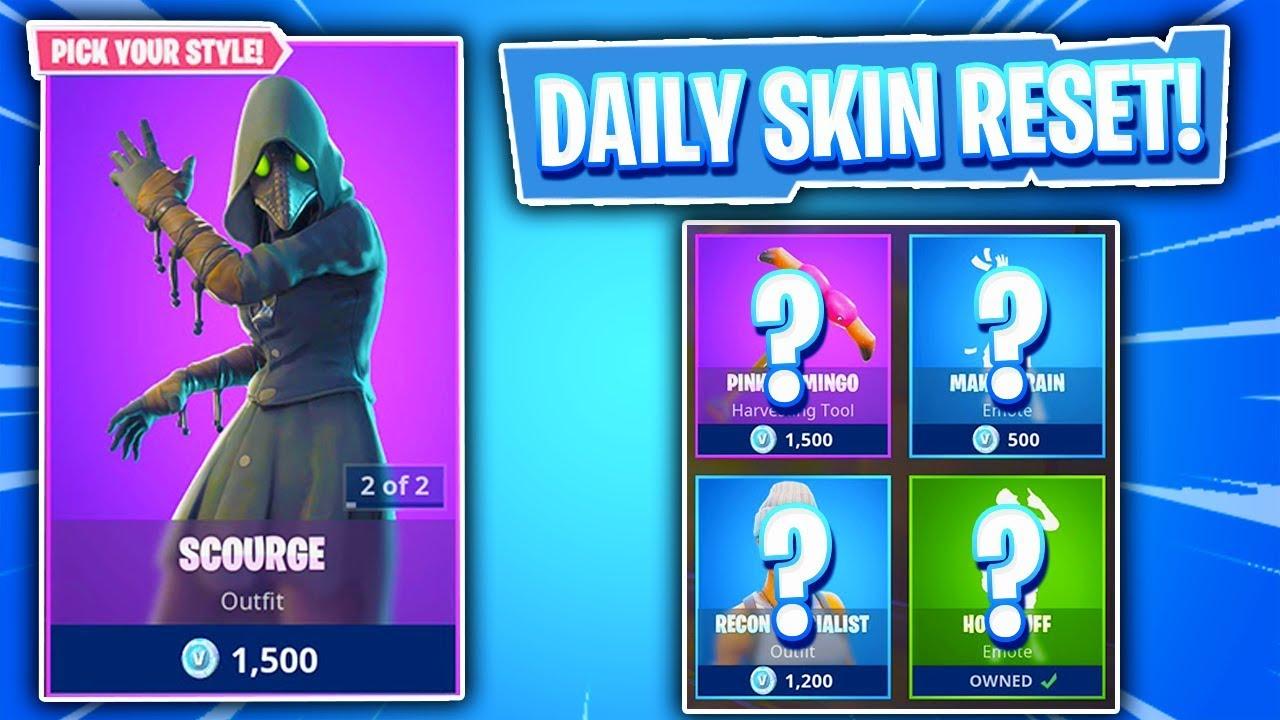 Omg plague skins daily featured item shop in fortnite battle royale skin reset 245 youtube - Fortnite plague skin ...