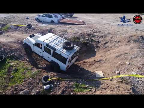 (Drone) Gibraltar: 4x4 Club Weekend Rally
