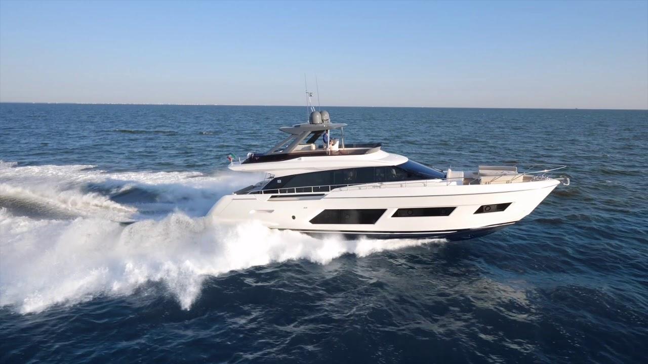 【銷售捷報】船主的第二艘遊艇—Ferretti 670