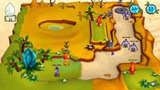 Jungle vs. Droids (Gameplay) HD