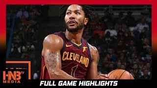 Derrick Rose (19 pts) Full Highlights vs Pacers / Week 2 / Cavaliers vs Pacers