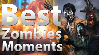 Call of Duty Zombies: Moments Montage - Funny Moments, Fails & Clutches!