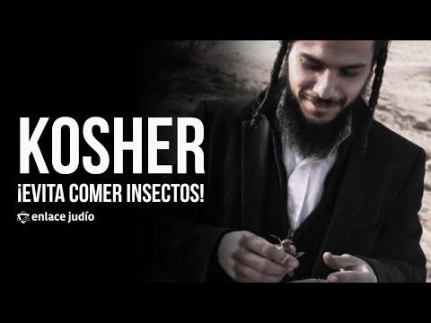 Indicaciones Kosher para evitar comer insectos/Tolaím