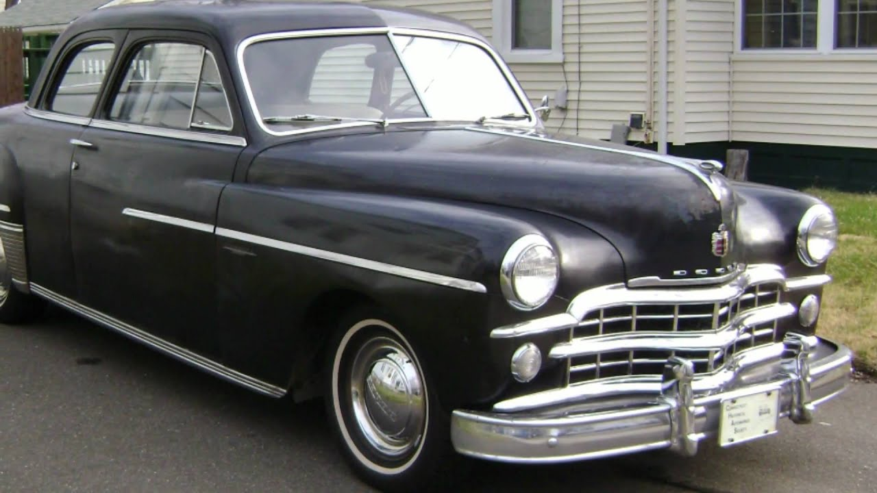 Harlans 1949 Dodge Coronet Club Coupe.wmv - YouTube