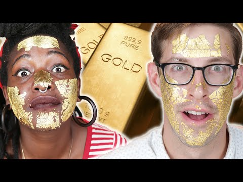 Thumbnail: People Try A 24K-Gold Face Mask