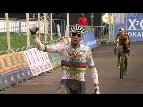 Van der Poel viert voor vierde opeenvolgende keer in GP Sven Nys