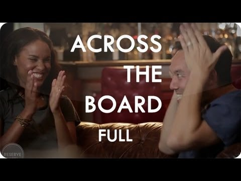 Steve Byrne and Joy Bryant's Ping Pong Show Down | Across the Board™ Ep. 5 Full| Reserve Channel
