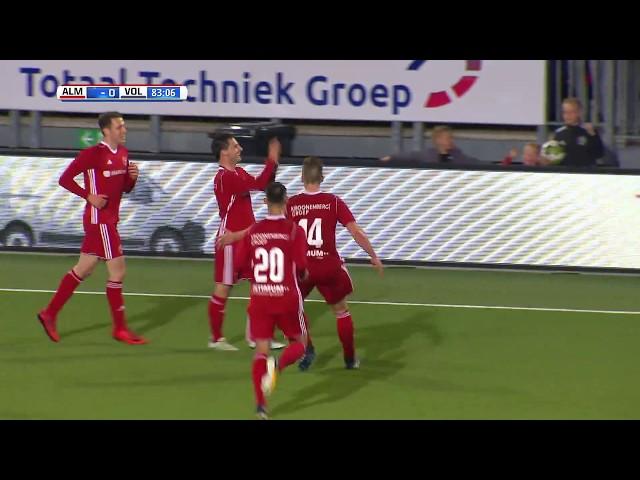 Samenvatting: Almere City FC - FC Volendam (2-0)