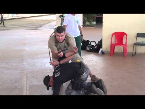 Special Tactical Group - Knife Defense Training in Brazil with Luke Holloway