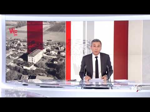 Nouvelle antenne téléphonie mobile SALT à Orbe en Suisse (2017)