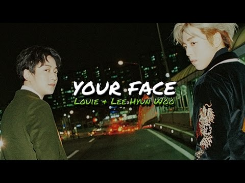 Louie geeks & Lee Hyun Woo - Your face Lyrics (Hangul + Romanization + English)