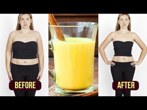 how-to-lose-stomach-fat-fast-/-turmeric-tea-weight-loss-/-fat-burning-tea