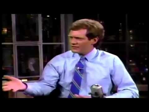 Tom Hanks talks He Knows You're Alone on Letterman show