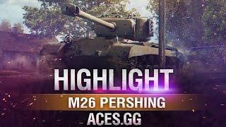 Армейский охотник.M26 Pershing в World of Tanks!