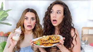 Download Eating Cookies With My Breast Milk! with Rosanna Pansino Mp3 and Videos