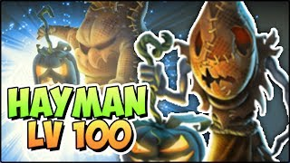 HAYMAN (LV 100) COMBATES PVP - Monster Legends Review