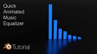 [2.79] Blender Tutorial: Quick 3D Animated Music Visualizer by Olav3D Tutorials