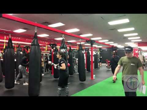 UFC Kickboxing Conditioning