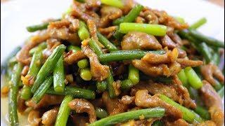 不管炒什么肉,都别直接下锅,大厨教你正确做法,肉不柴也不腥!