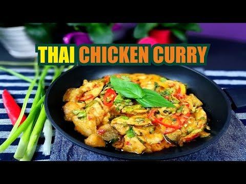 Thai Chicken Curry | Thai Chicken Curry Recipe | Fast & Food