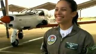 Mulher entra para a história da Aeronáutica do Brasil