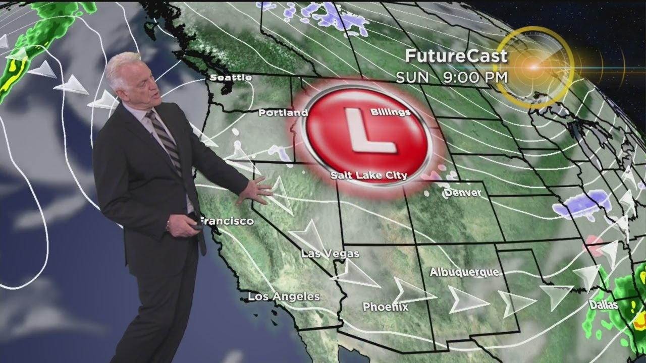 Garth Kempu0027s Weather Forecast Feb 7
