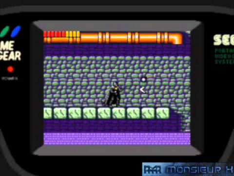 [Longplay N°24] Batman Returns (Game Gear)