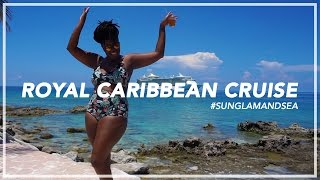 My First @RoyalCaribbean Cruise...With @Glamazini! #sunglamandsea